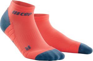 cep Low Cut Socks 3.0 Miehet, coral/grey, Miesten housut ja muut alaosat
