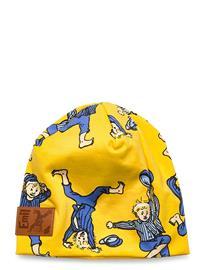 Emil i Lönneberga Stunt Beanie Accessories Headwear Hats Keltainen Emil I Lönneberga YELLOW