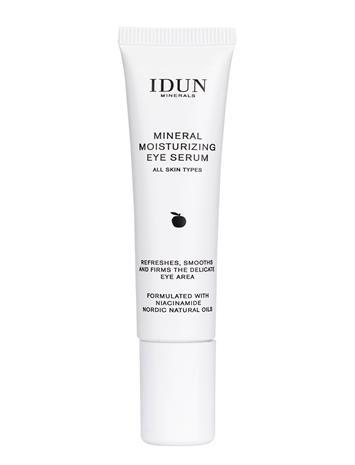 IDUN Minerals Mineral Moisturizing Eye Serum Silmänympärysvoide Ihonhoito Nude IDUN Minerals CLEAR