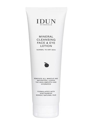 IDUN Minerals Mineral Cleansing Face & Eye Lotion Meikinpoisto Nude IDUN Minerals CLEAR