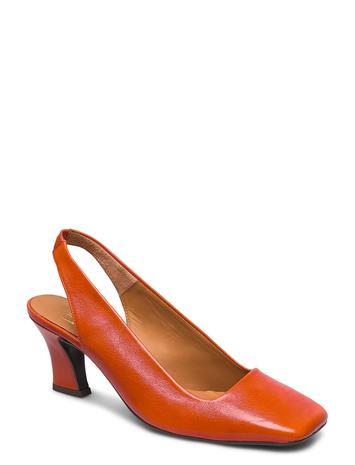 Billi Bi Pumps 4561 Shoes Heels Pumps Sling Backs Oranssi Billi Bi CORAL ZUCCA NAPPA 77