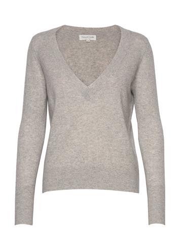 Rosemunde Wool & Cashmere Pullover Ls Neulepaita Harmaa Rosemunde LIGHT GREY MELANGE