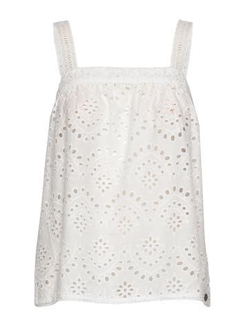 Nä¼mph Nubryana Top T-shirts & Tops Sleeveless Valkoinen Nä¼mph B. WHITE