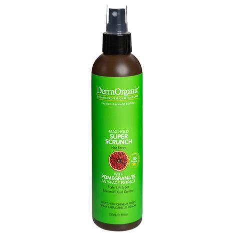 DermOrganic Super Scrunch Hair Spray (150ml)
