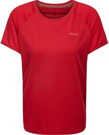 PYUA Skip S T-paita Naiset, red melange