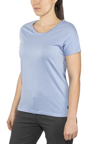 Bergans Oslo Wool Tee Women, air blue