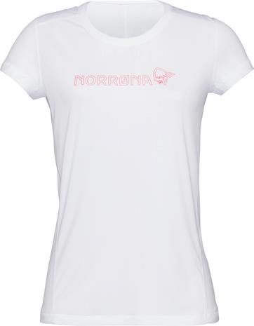 Norrøna /29 Tech T-paita Naiset, pure white