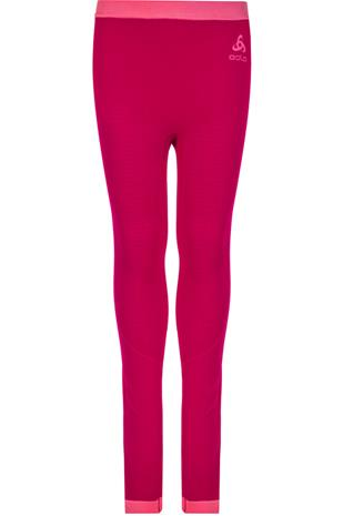 Odlo Performance Warm Housut Lapset, cerise/fruit dove