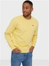 Levis New Original Crew Puserot Yellow/Orange, Miesten paidat, puserot ja neuleet