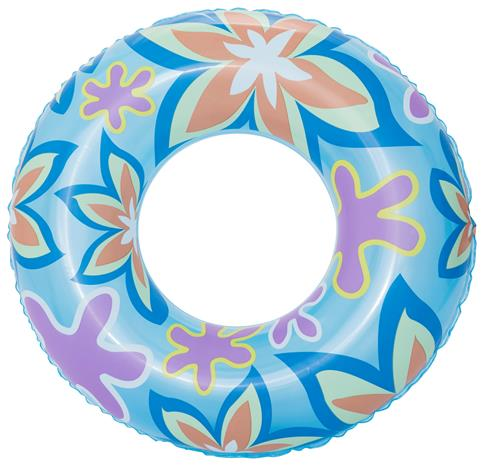 Bestway - Designer Swim Ring - Blue