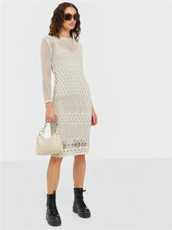 Y.A.S Yasharper 7/8 Knit Midi Dress Ft