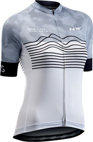 Northwave Blade Jersey Lyhythihainen Naiset, white/black