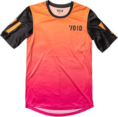 VOID Orbit Tee Men, persimmon fade, Miesten takit, paidat ja muut yläosat