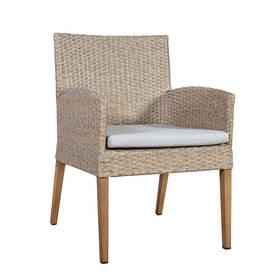 Puutarhatuoli HENRY, alurunko polyrottingilla, tiikki