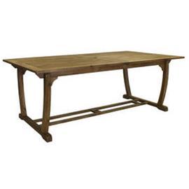 Puutarhapöytä FUTURE 210/300x110xK73cm, akaasiapuuta, jatkettava, vaaleanruskea