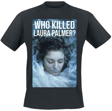Twin Peaks - Who Killed Laura Palmer? - T-paita - Miehet - Musta
