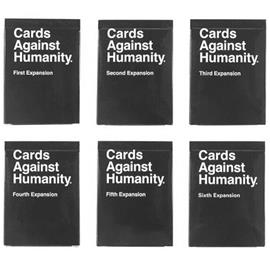 Cards Against Humanity - Expansion Set 1-6, korttipeli