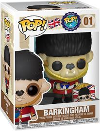 Funko - Around The World - Barkingham (Pop and Pin) (UK) (Funko Shop Europe) Vinyl Figure 01 (figuuri) - Funko Pop! -figuuri - Unisex - multicolor