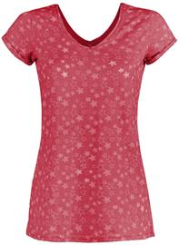 Sublevel - Stars - T-paita - Naiset - Pinkki