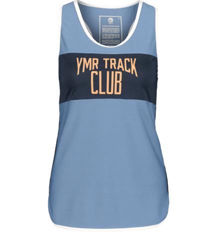 Ymr Track Club TRACK ATTACK LDS NM SINGLET LIGHT BLUE/NAVY