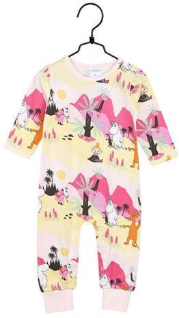 Muumi Trooppinen Pyjama, Vaaleanpunainen, 86