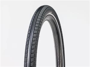 "Bontrager E6 Hard-Case Lite E-Bike Taitettava rengas 27.5x2.40"""", black/reflective"