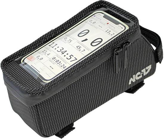 NC-17 Connect Sideloader Smartphone Top Tube Bag XL, black