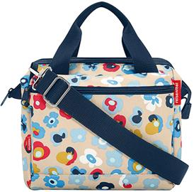 KlickFix Roomy Handlebar Bag, millefleurs