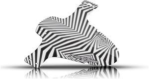 """Riesel Design schlamm:PE Etulokasuoja 26-29"""""""", dazzle"""