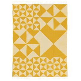 Verpan Verpan-Mirror Plaid Wool 130x190 cm, Yellow