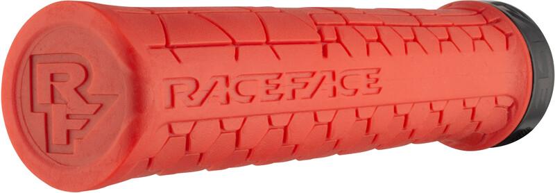 Race Face Getta Grips, red/black