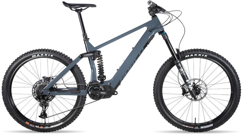 Norco Bicycles Range VLT C2, charcoal grey/action orange