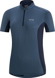 GORE WEAR C3 Zip Jersey Women, deep water blue/orbit blue