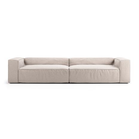 Decotique Decotique-Grand 4-Seat Sofa, Mine Shell 196