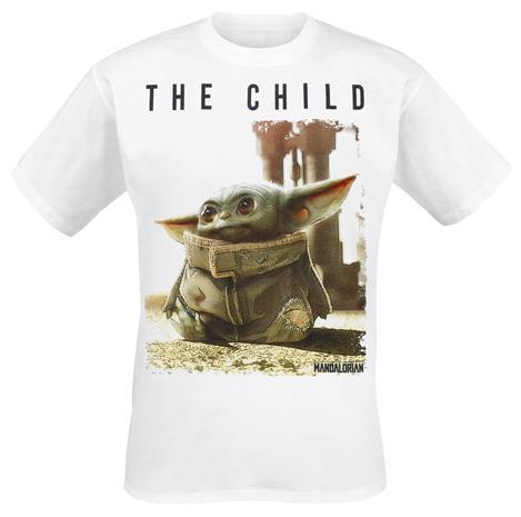 Star Wars - The Mandalorian - The Child - T-paita - Miehet - Valkoinen