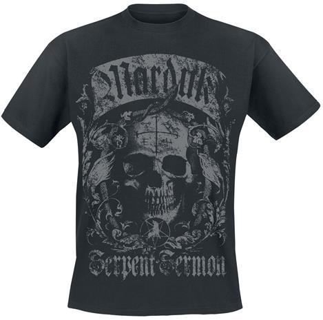Marduk - Skull - T-paita - Miehet - Musta