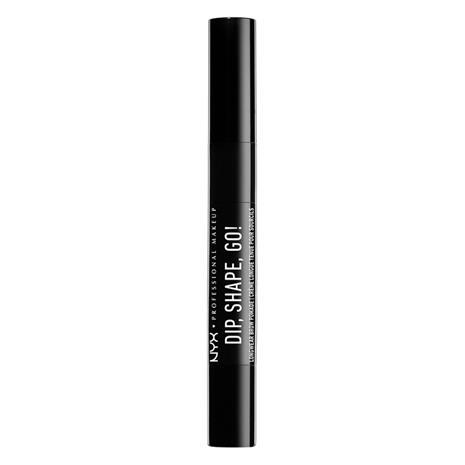 NYX Professional Makeup Dip, Shape, Go! Longwear Brow Pomade Black
