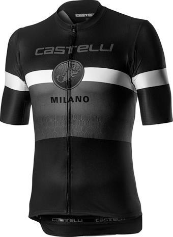 Castelli Milano SS Jersey Men, black