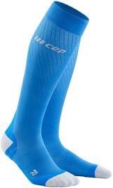 cep Ultralight Run Socks Men, electric blue/light grey