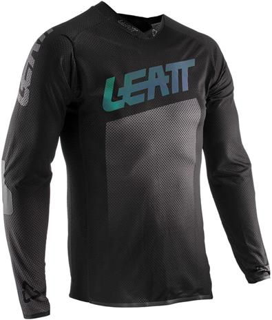 Leatt DBX 4.0 Ultraweld Jersey Pyöräilypaita Miehet, black