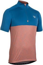ION Paze Puolivetoketjullinen Lyhythihainen T-paita Miehet, ocean blue