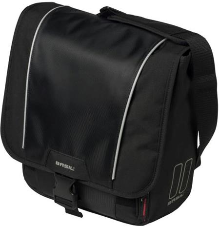 Basil Sport Design Commuter Tavaratelinelaukku 18l, black