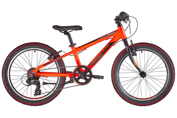 "Serious Rockville 20"""" Lapset, race fire red"