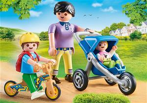 Playmobil City Life 70284, Äiti ja lapset