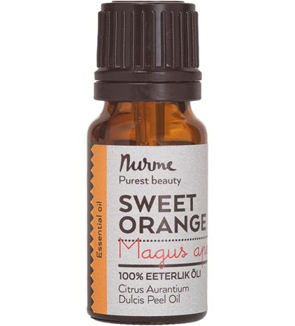 Nurme Sweet Orange Essential Oil 10 ml eteerinen öljy