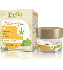 Delia Botanical Flow Natural Hemp Oil 50 ml suojaava päivävoide
