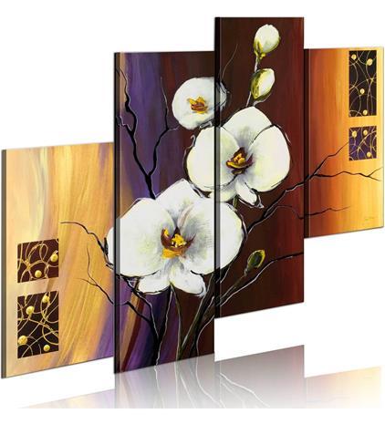 Artgeist Valkoinen orkidea taulusetti