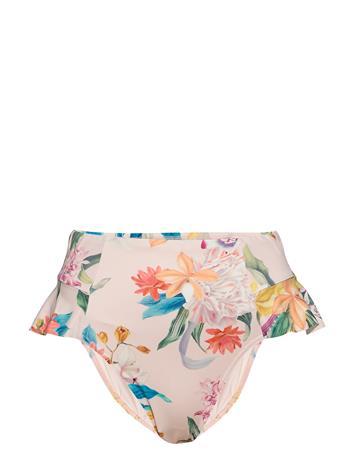 Lindex Brief Paula Bikini High Waist Bikinialaosa Vaaleanpunainen Lindex LIGHT DUSTY PINK