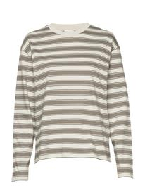 Filippa K Linnett Top T-shirts & Tops Long-sleeved Harmaa Filippa K GREEN GREY