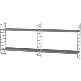 String String-Outdoor Shelf G, Galvanized